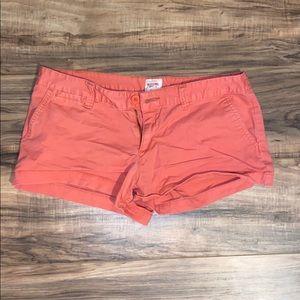 Mossimo coral shorts